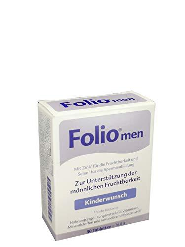 Folio men Kinderwunsch Tabletten, 30 St. Tabletten
