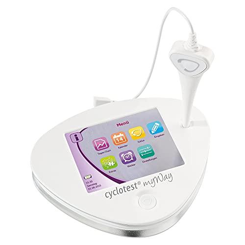 cyclotest myWay Zykluscomputer mit integr. Basalthermometer Kinderwunsch oder hormonfreie Verhütung nach NFP